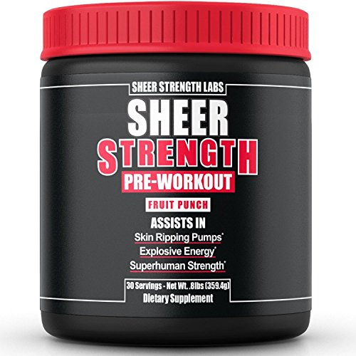 Sheer Strength Pre-Workout