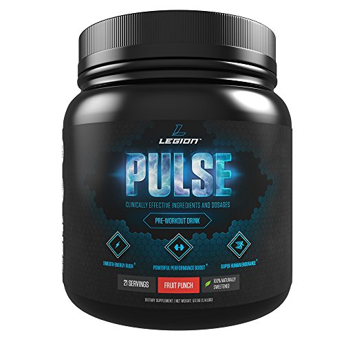 LEGION Pulse Best Pre-workout supplement reviews
