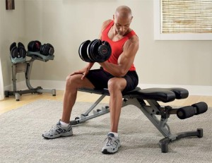 Workout Bench for home