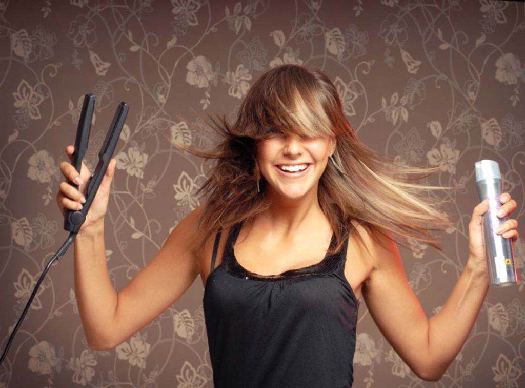 Five tricks to get the most out of your flat iron